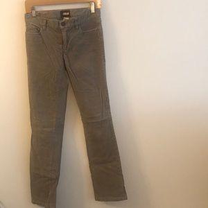 Tan corduroy pants